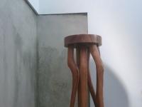 Wood legs-fir
